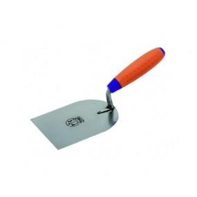Stainless steel little trowel Swiss type square tip Sintesi handle